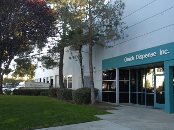 Quick Dispense Corporate Office in Pomona, CA