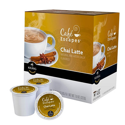 Café Escapes – Chai Latte