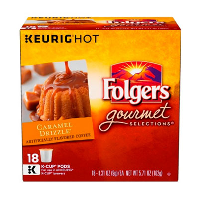 Folgers – Caramel Drizzle