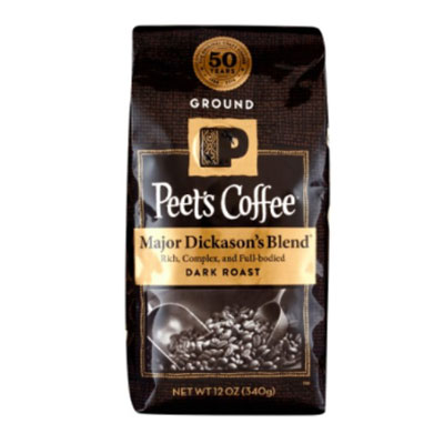 Peet's Coffee – Major Dickanson's Blend Decaf (Ground)