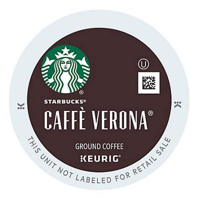 Starbucks – Caffe Verona K-Cup