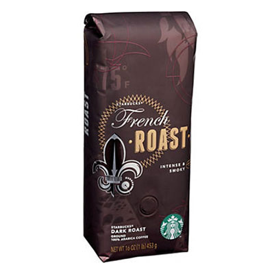 Starbucks – French Roast (Darkest Roast)
