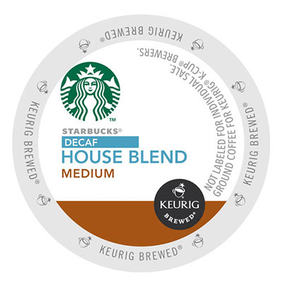 Starbucks – House Blend K-Cup (Decaf)