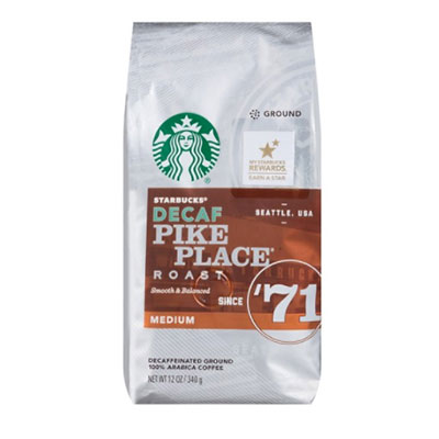 Starbucks – Pike Place (Decaf)