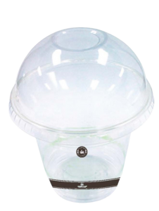 Emerald Compostable Dome Cold Cup Lid
