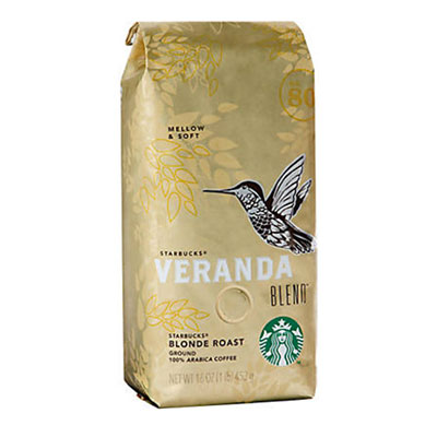 Starbucks – Blonde Veranda Blend Ground Coffee