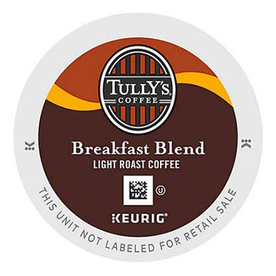 Tully's – Breakfast Blend K-Cup
