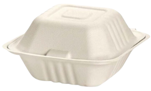 Emerald Compostable 6 Inch Clamshell