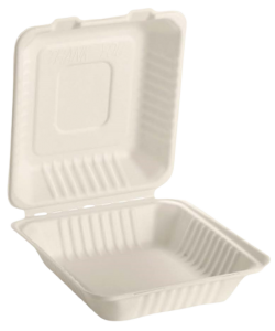 Emerald Compostable 8 Inch Clamshell