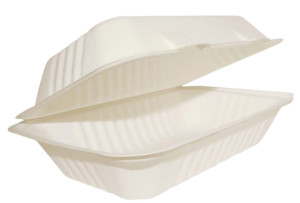 Emerald Compostable 9-3 Inch Clamshell