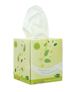 Emerald Tree-Free Boutique Box Facial Tissue
